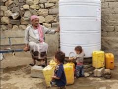 جنتي تأمن خزنات مياه صالحة للشرب للاسر المتعففة في العاصمة صنعاء والحديدة